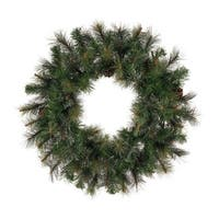 Artificial Modesto Mixed Pine 42-inch Wreath with 200 Tips