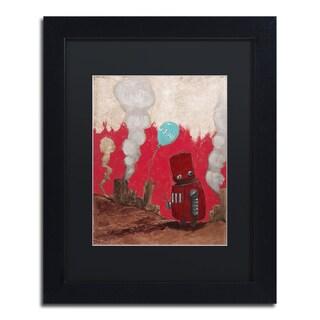 Craig Snodgrass 'Win!' Matted Framed Art