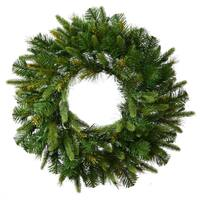 Vickerman Green 60-inch Cashmere Wreath with 576 Tips