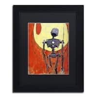 Craig Snodgrass 'Iron Bot' Matted Framed Art