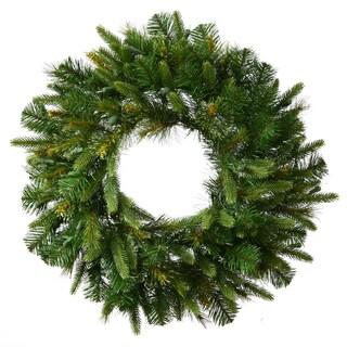 Vickerman Cashmere 30-inch 155-tip Wreath