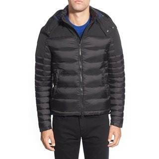 Burberry Men's Farrier Black Puffer Coat