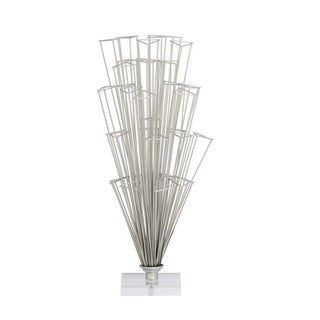 Studio 350 Metal Acrylic Sculpt 12 inches wide, 22 inches high
