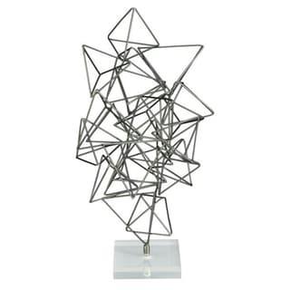 Benzara Metal and Acrylic Sculpture