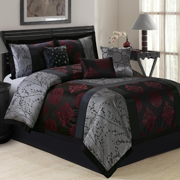 Fashion Street Shangrula Japanese 7-piece Comforter Set