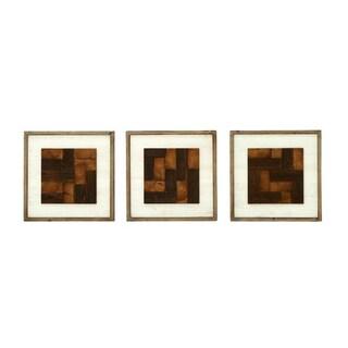 Wood 3-piece Wall Decor Set