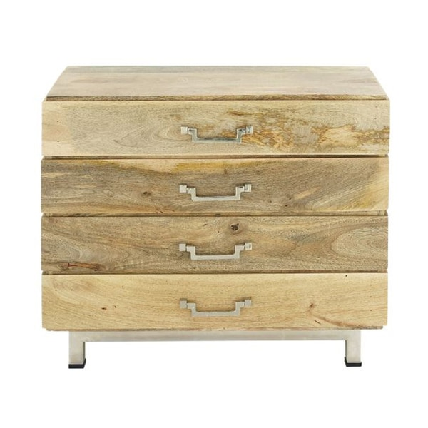 Shop Studio 350 Wood Stainless Steel Cabinet 34 inches ...