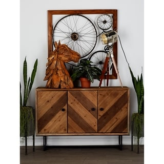 Alluring Brown Wood Cabinet