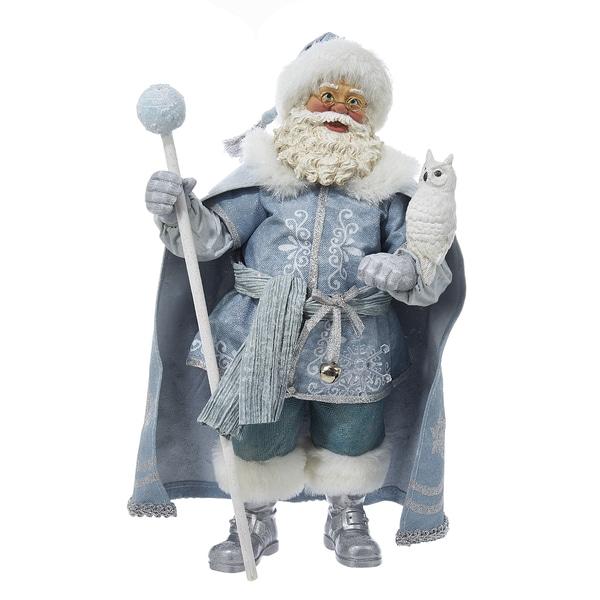 Kurt adler inch fabrich father frost santa free