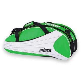 Prince Victory Greeen, White and Black Manmade Nylon 6-pack Tennis Bag|https://ak1.ostkcdn.com/images/products/13001627/P19746053.jpg?impolicy=medium