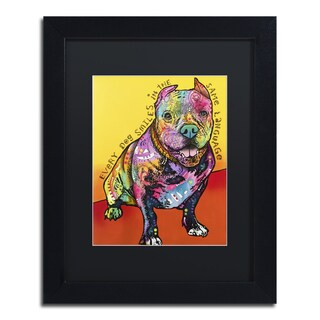 Dean Russo 'Moses' Matted Framed Art