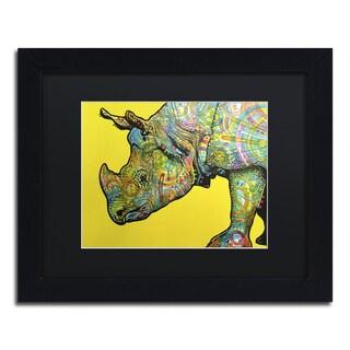 Dean Russo 'Java' Matted Framed Art