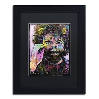 Dean Russo 'Jerry Garcia' Matted Framed Art