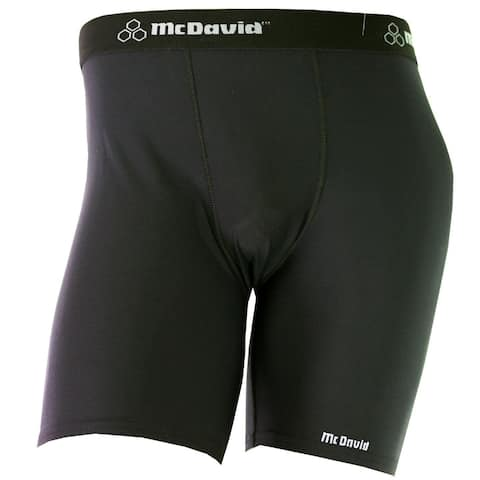 McDavid Classic 706 Men's Black X-large Mid-length Compression Short