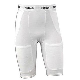 McDavid Classic Men's 750 Adult Pro 4XL White Five-Pocket Girdle