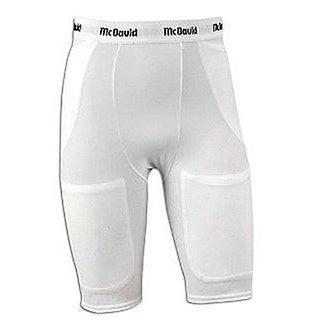 McDavid Classic Men's 750 Adult Pro 4XL White Five-Pocket Girdle