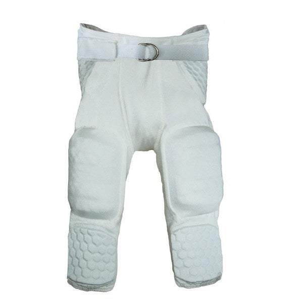 McDavid Youth Classic 7500Y White Large Integrated Hexpad Football Pants