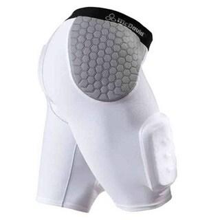 McDavid Classic 7552 White/Grey Medium Hardshell Thigh Guard Girdle