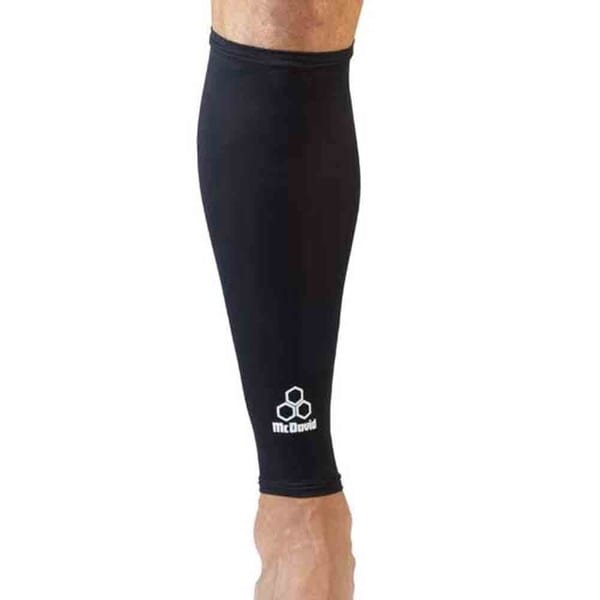McDavid Classic 6580 Black Large Recovery Compression Leg Sleeves Pair