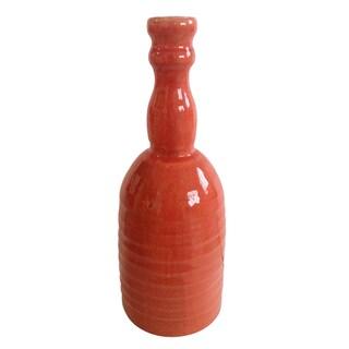 Jeco Orange Ceramic Small Bottle