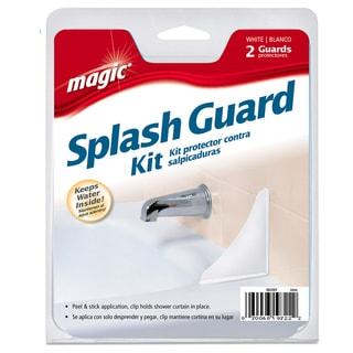 Magic 3022 White Tub & Shower Splash Guard 2 Count