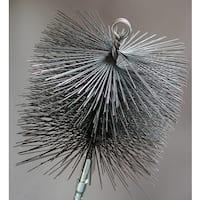 "Rutland 16510 10"" Square Chimney Cleaning Brush"
