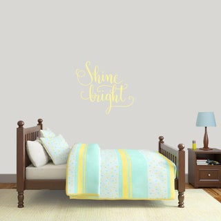 Sweetums 'Shine Bright' 24-inch Wall Decal