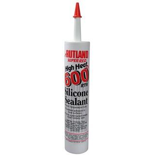 Rutland 76R 10.3 Oz Red 600°F RTV Silicone Sealant