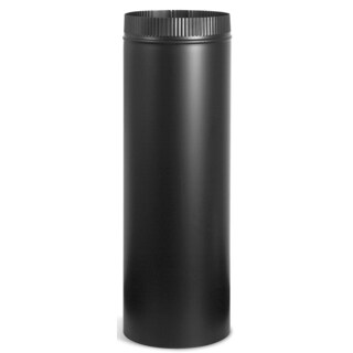 """Imperial Manufacturing Group BM0220 6"""" X 48"""" Black Matte Stove Pipe"""