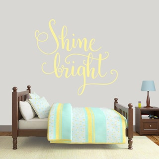 Sweetums 'Shine Bright' 48-inch Wall Decal