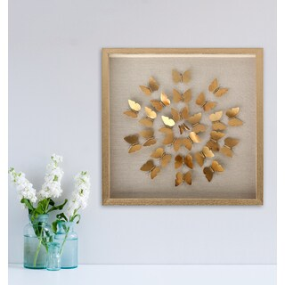 Radial Butterfly Shadowbox