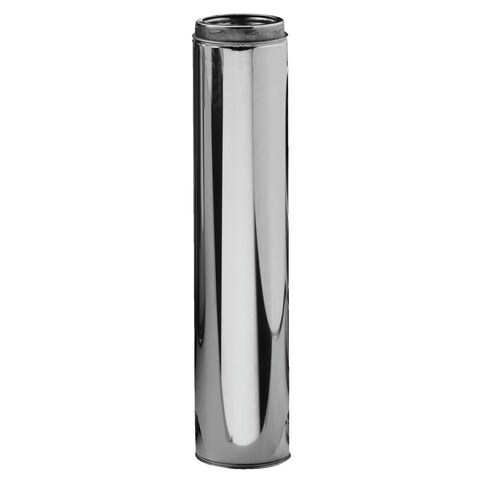 "Selkirk 6UT-48 6"" X 48"" Stainless Steel Insulated Chimney Pipe"