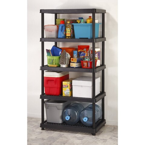 """Keter 5-Tier 24"""" Utility Freestanding Ventilated Shelving Unit"""