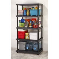 "Keter 5-Tier 24"" Utility Freestanding Ventilated Shelving Unit"