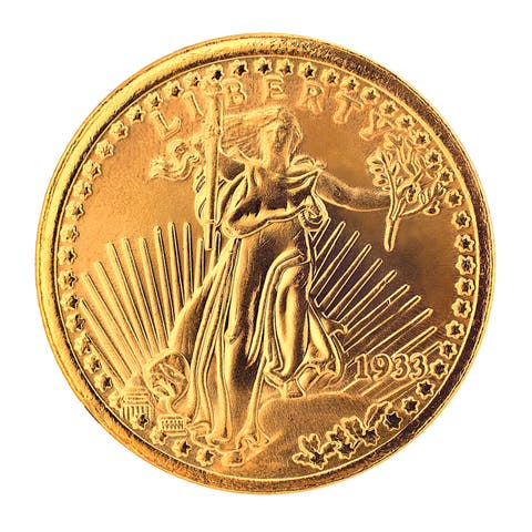American Coin Treasures $20 Saint Gaudens Gold Piece 1907-1933 Replica Coin