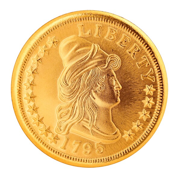 Small Eagle $10 Gold Piece 1795-1797 Replica Coin