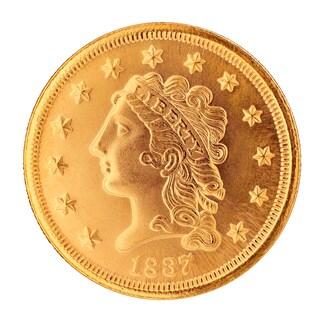 Classic Head $2.50 Gold Piece 1834-1839 Replica Coin