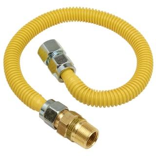 """Brass Craft CSSC12R-36 P 3/4"""" MIP X 3/4"""" FIP X 36"""" Gas Connector"""