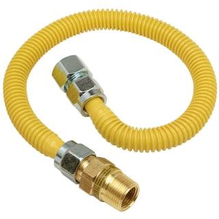 """Brass Craft CSSC12R-48 P 3/4"""" MIP X 3/4"""" FIP X 48"""" Gas Connector"""