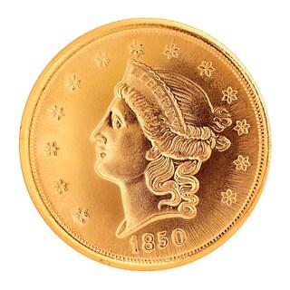 American Coin Treasures $20 Liberty Gold Piece 1850-1907 Double Eagle Replica Coin