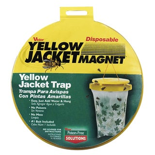 Victor M370 Disposable Yellow Jacket Magnet