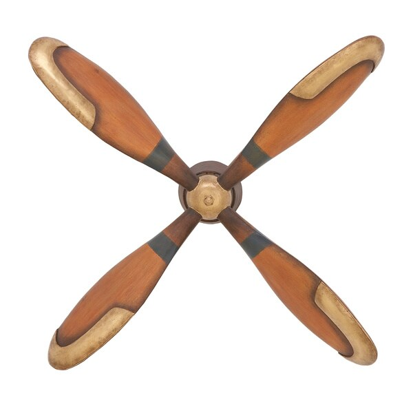 Shop Urban Designs Antique Plane Propeller Metal Wall