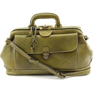 Patricia Nash Women's Dottore Green Leather Handbag