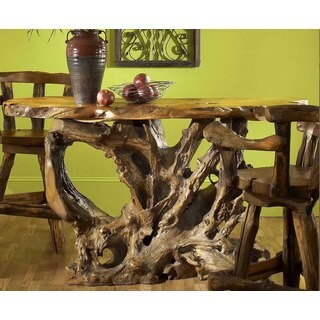 Groovystuff Diablo Teak Natural Bar Table (Thailand)