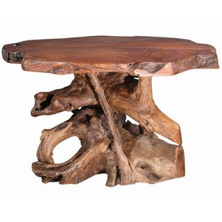 Groovystuff TF-0774 Bandera Reclaimed Teak Wood Dining Table