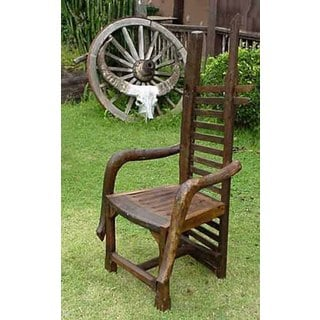 TF-0107 Groovystuff Plantation Chair (Thailand)
