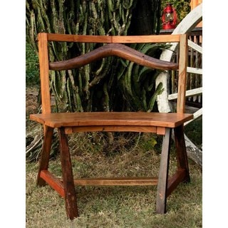 TF-0108 Groovystuff Circuit Brown Reclaimed Teak Wood Bench (Thailand)