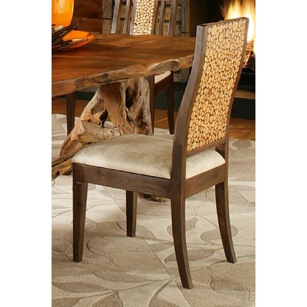 Handmade Tf 0978 S Brown Wood Leman X27 Dining Chair