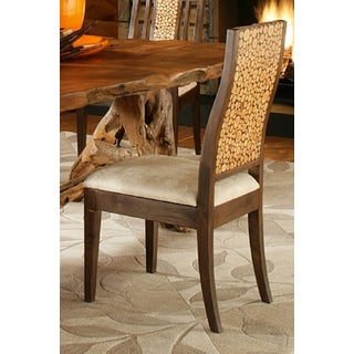 Brown Wood Nobleman's Side Chair (Thailand)