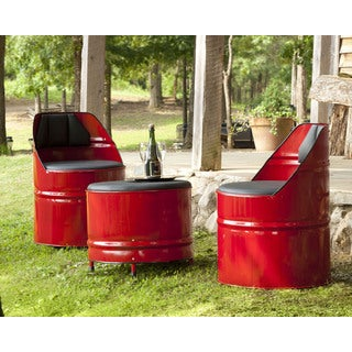 Handmade TF-1020 Washington Red Barrel Chair (Thailand)